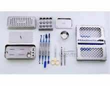 PRF Box Instruments Set Cassette Tray Compactor Spoon Bowl Platelet Rich Fibrin Dental Implant