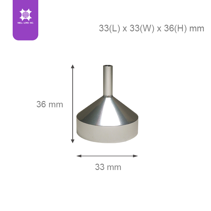Must have useful mini metal funnel for pouring