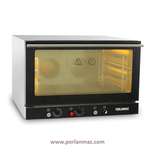 Mini Convection Oven with electric- 4 trays- Pastry Oven Completely Stainless Steel