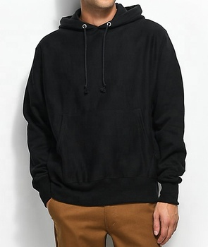Black pullover baggy customized printed hoodies / custom graphic hoodies cheap / custom made hoodies