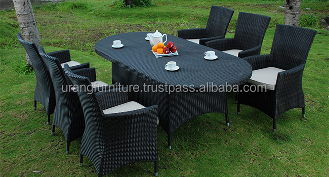 Outdoor dining sets wicker synthetic top quality and cheapest canada dining sets