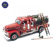1958 SEAGRAVE MODELL 750 FEUER MOTOR 1:24 diecast