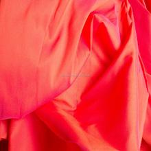 Factory Wholesale Supply Polyester Taffeta Fabric For Women's Clothing, Lining, Gowns