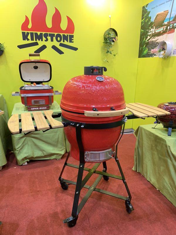 Kimstone mini kamado griglia 21 pollici per esterno e feste