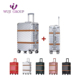 Premium quality suitcase 2 piece set custom fashion cabin trolley luggage bag suitcae