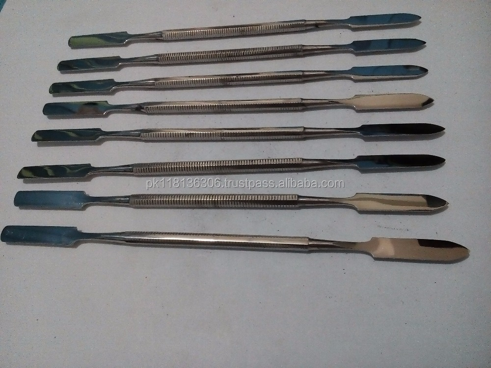 Dental Cement Mixing Spatulas Double Ended
