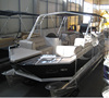 2018 New Aluminum luxurious yacht 7M sharkpontoon SC7-SP Direct from Manufacturer - Made in Turkey