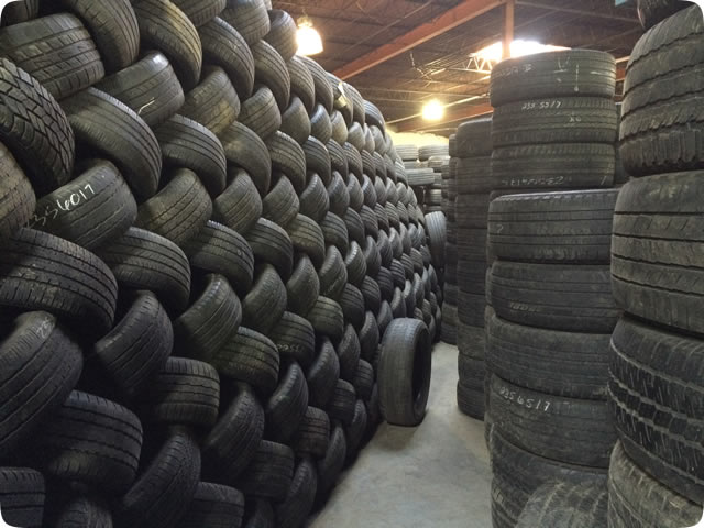 High quality second hand used car tires from Netherlands