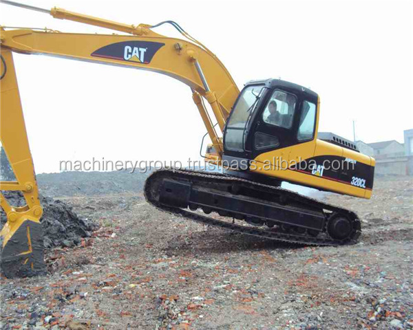 used caterpilla 320cl excavator320B/320C/320D/320CL/320BL with attractive price original nearly new used cat excavator 320B