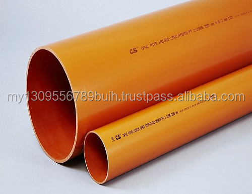 PVC-U UNDERGROUND SEWERAGE PIPES compiled with various standard (ISO, MS, BS, & JIS)