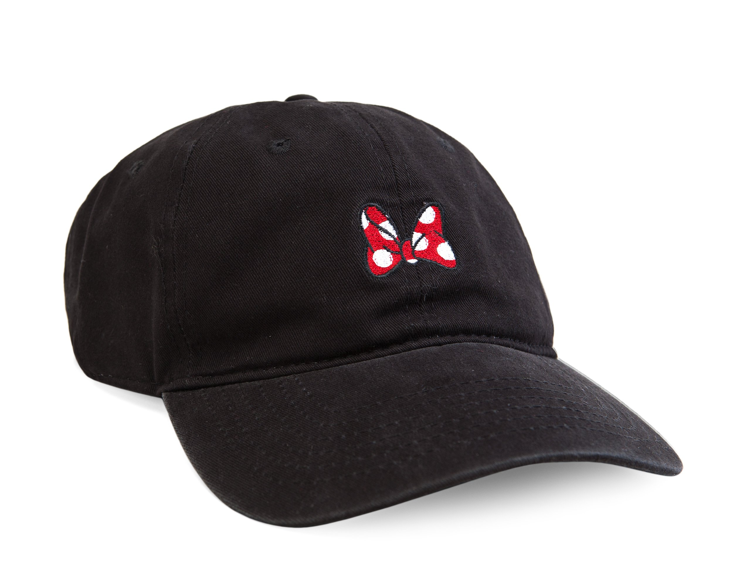 7422b2c7aa6 Get Quotations · Disney Women s Minnie Mouse Washed Baseball Cap