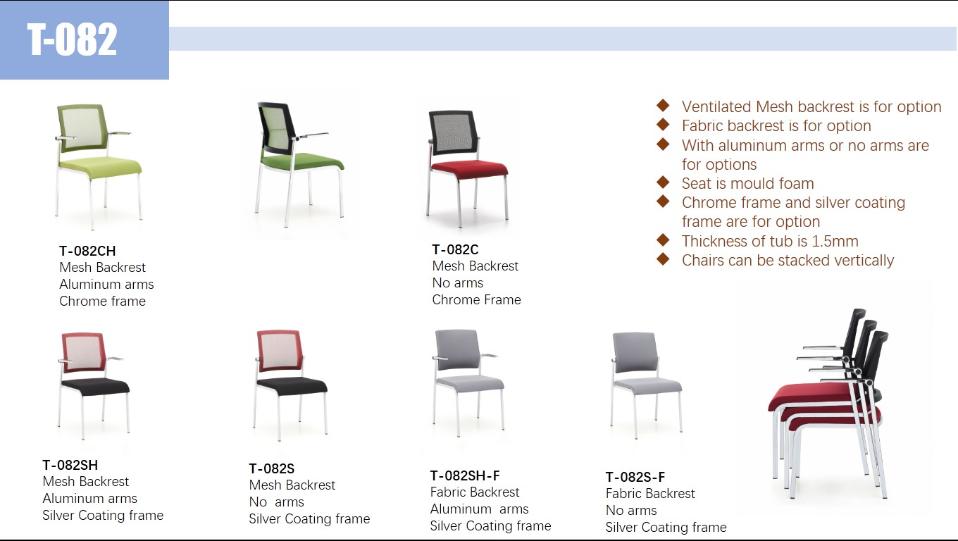 Cheap promotion office furniture staff computer ergonomic chairs