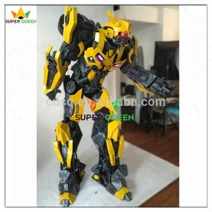 Super Queen- Halloween Cosplay 2.6M Tall Cosplay Bumble bee Costume Robot for Aults