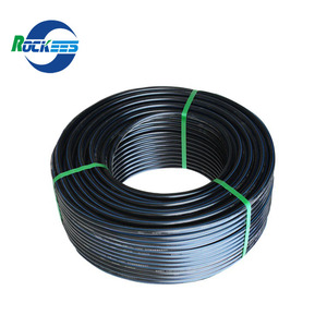 pe100 black plastic HDPE pipe PN16 PN10 12 inch hdpe pipes prices list