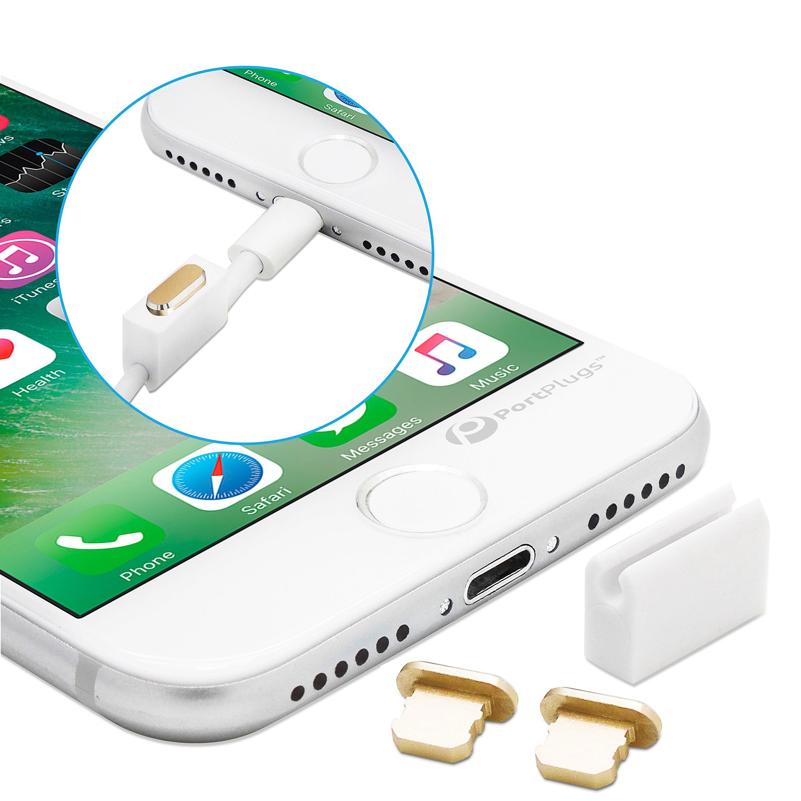 online retailer 0c3c0 7aa9b Buy Premium Aluminum iPhone Dust Plug Set- Lightning Port and ...