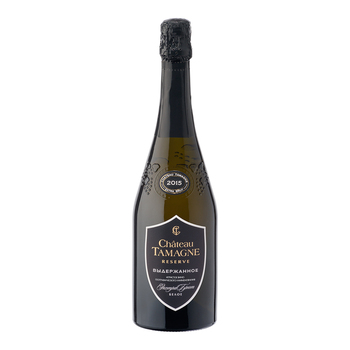 "Russian sparkling white wine (classical method) Chateau Tamagne Reserve"" 0,75L"