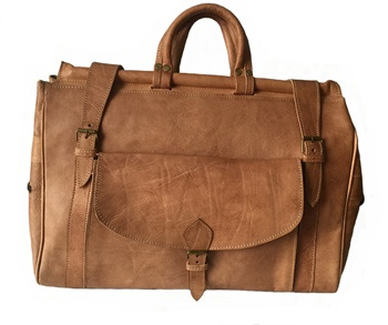 정통 제 Genuine Leather Weekender 백