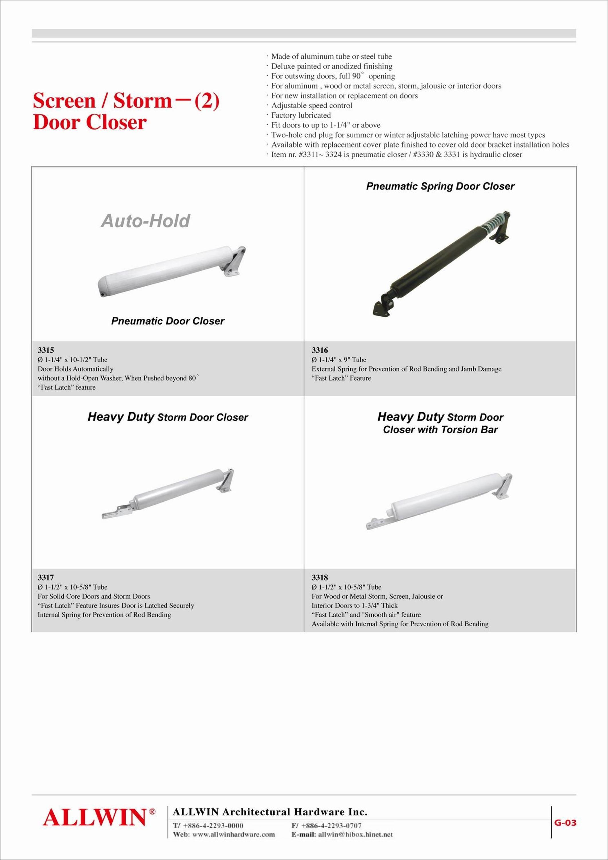 sc 1 st  ALLWIN Architectural Hardware Inc. & Pneumatic Door Closer product-03-01-0018-1-3312