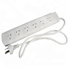 SAA approval Australia standard 6 way power board with switch