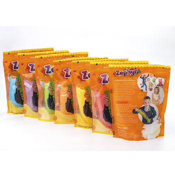 Zephyr plasticine in doy pack big, eco-friendly plasticine modeling clay