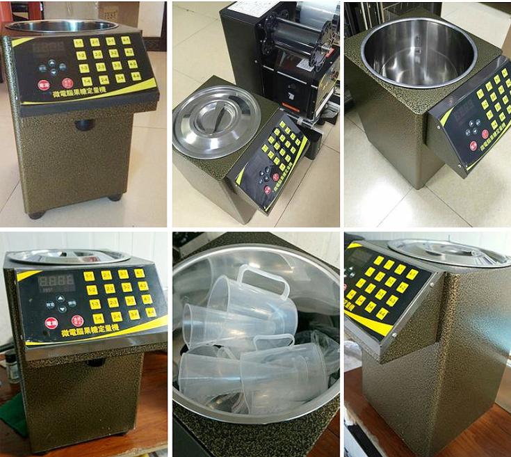 Verkauf von Fruktosesirup- / Milchteespendermaschinen
