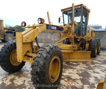 second hand cat 140k graders have good price and high quality on hot sale in shanghai
