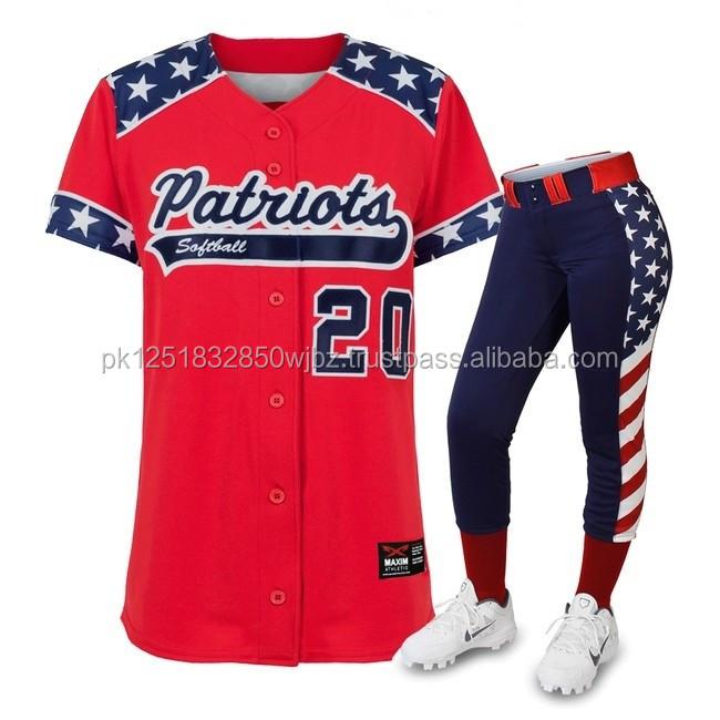 7ba344dce50a Sublimated Baseball Uniform Jersey   Pants
