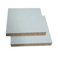 White Melamine laminated MDF board
