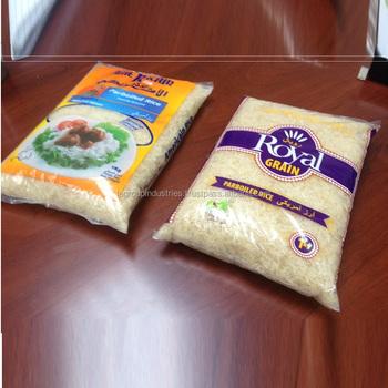 Parboiled Rice In Retail Bags 1kg