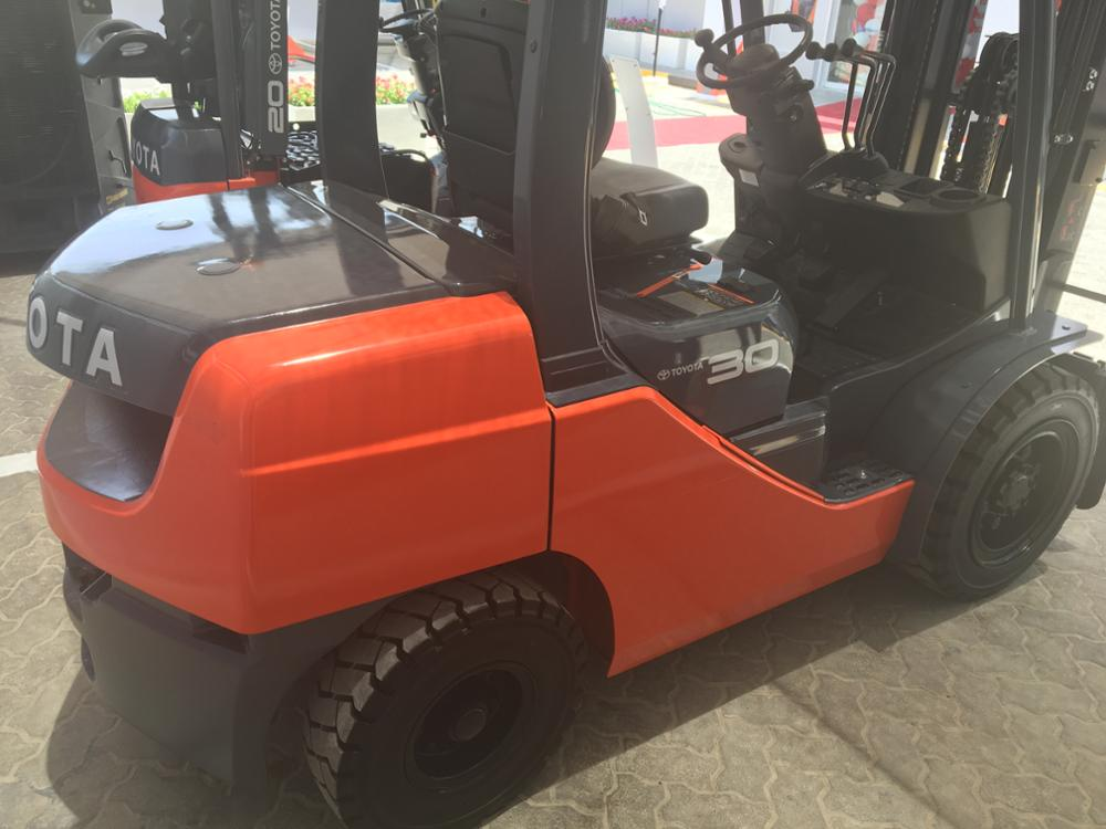 New Toyota 3 Ton Forklift 62 8fd30 Diesel Forklift Export