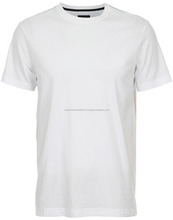 Slim Plain body fit wit t-shirts, Gekleurde T-shirts/