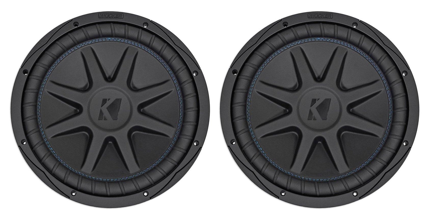 """Kicker 44CVX104 Comp VX CVX 10/"""" 1200 Watt Car Subwoofer Sub CVX10-4 44CVX10-4"""