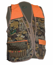 POLYESTER HUNTING VEST WITH 40 BULLET POCKETS