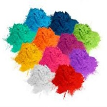 Waste electrostatic powder paint