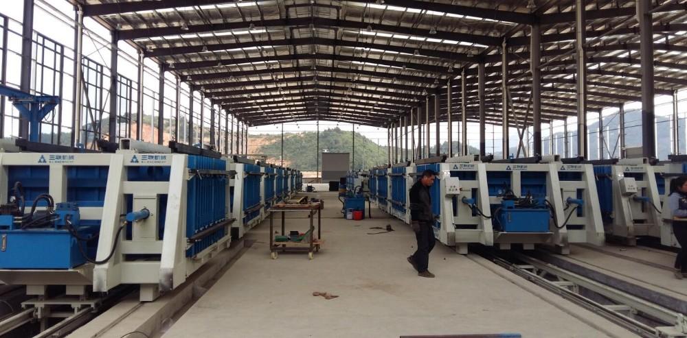 卧式墙板工厂