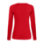 Ladies latest fashion trend keyhole cut blouse long sleeve tank top