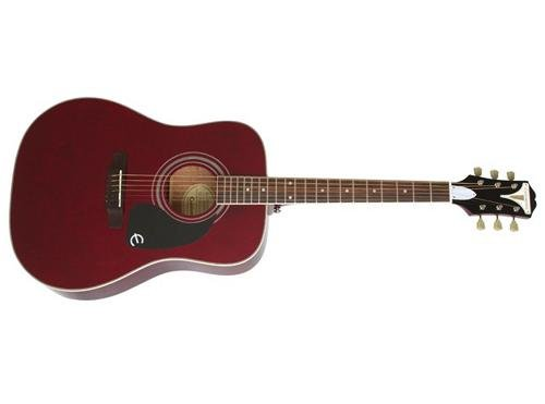 Epiphone EAPPWRCH1 PRO-1 PLUS Acoustic Guitar, Wine Red