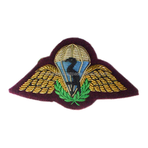 Hand embroidery bullion badges RAF Brevet - FC (Fighter Controller)  Half-Wing Mess Kit patch