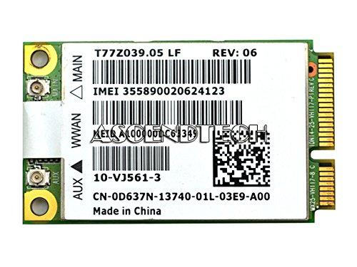 Dell Latitude D430 Wireless 5720 VZW Mobile Broadband MiniCard Driver PC