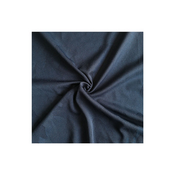 China plant ready to ship weft circular knitting camo navy gym shirt fabric for casual suit RTS 5000