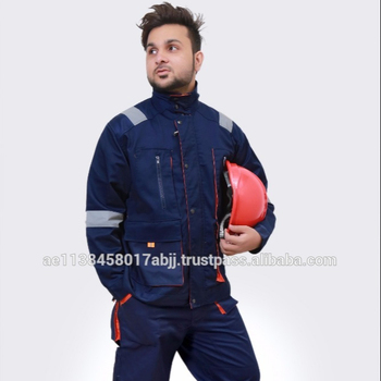 100% Cotton , 240 GSM Reflective & Stylish Jacket & Trouser