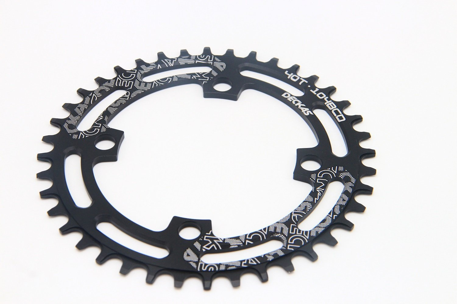 Alomejor Narrow Wide Chainring 96BCD 32//34//36T Single Chainring Mountain Bike Bicycle Single Speed Chain Ring