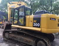 Used excavator komatsu pc300-7 original from Japan