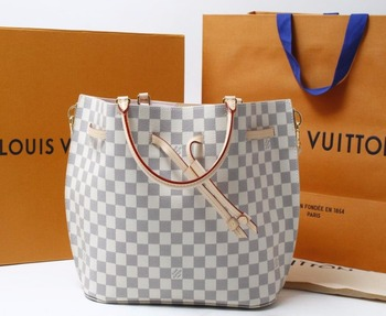 cc46fe855396 Used brand Handbag LOUIS VUITTON N41579 GIROLATA Damier Azur Shoulder bags  for bulk sale.