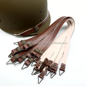 WWII US M1 Helmet Leather Liner Chinstrap