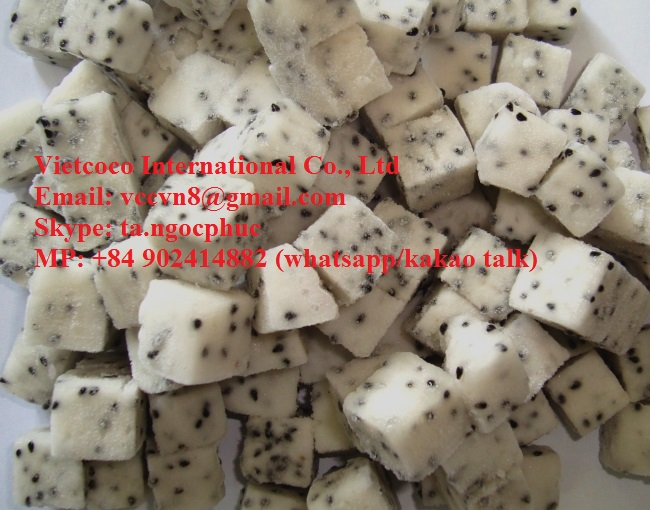 Best price FROZEN DRAGON FRUIT from Viet Nam