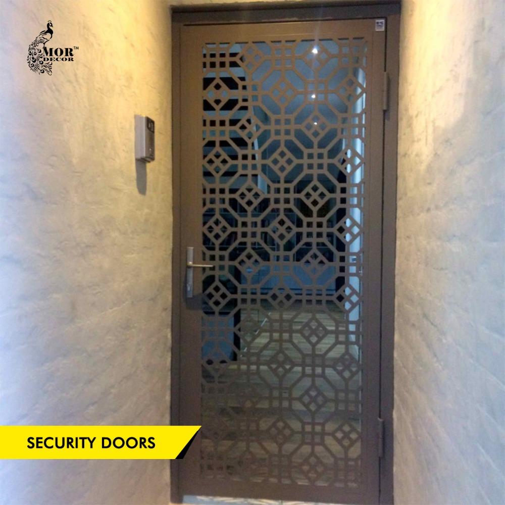 Perfect Steel Security Door, Steel Security Door Suppliers And Manufacturers At  Alibaba.com