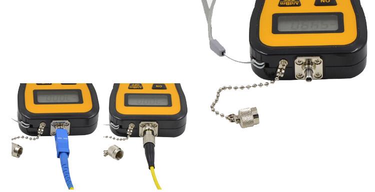 -70 ~ +6 / -50 ~ +26 dBm Handheld Mini Optical Power Meter