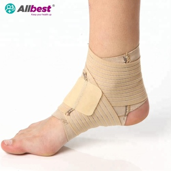 Fits Elastic Knitted Elasticated Ankle Wrap Support