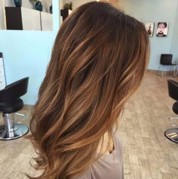 Light Brown Copper Hair Color